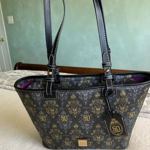 New Dooney & Bourke Haunted Mansion 50th Tote
